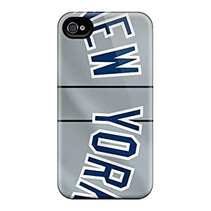 Awesome Design New York Yankees Hard Case Cover For Iphone 4/4s