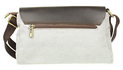 Handbags Gris Bolso Claro Bandolera Mujer Girly 8qpRw1