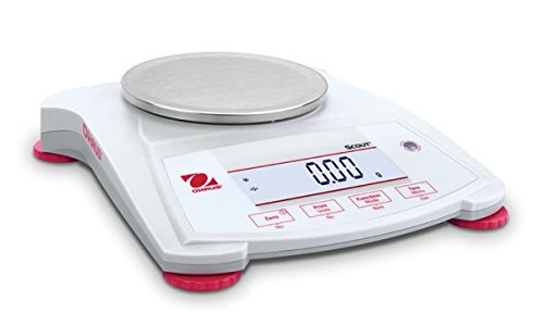 Ohaus SPX222 Scout Analytical Balance, 220 g x 0.01 g Analytical Balance