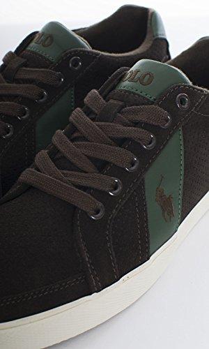 Lauren Uomo Marrone EU A85Y0471RUDHPA2003 Sneakers Ralph zWxTUR5
