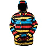 Special Blend Circa Jacket - Men's Primetime Stripes, L