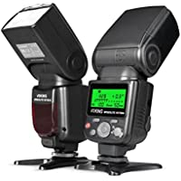 Voking VK750III Remote TTL Camera Flash Speedlite with LCD Display for Nikon D3400 D7000 D5300 D850 D750 and Other DSLR Cameras
