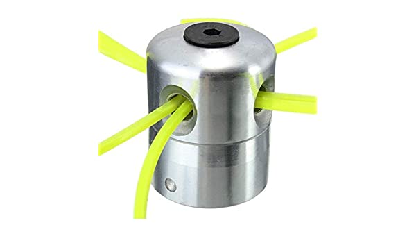 Chengjellylibrary Aleación Aluminio Desbrozadora Cesped Cabeza con ...
