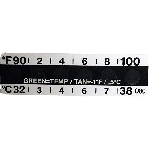 Temperature Strips for Urine Drug Testing - Cheat Check 860020U Box 10