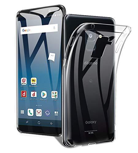 A-VIDET Galaxy Feel2 ケース 衝撃吸収バンパー アンチスクラッチ クリスタル ソフト TPU素材製 ケース Galaxy Feel2 SC-02L docomo スマートフォン対応 (クリア)