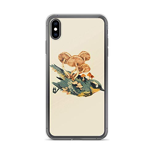 iPhone Xs Max Pure Clear Case Cases Cover After Bird Dead Vintage Abstract Drawing