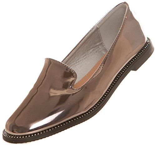 CAPRIUM - Zapatos Planos con Cordones Hombre , color negro, talla 41
