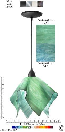 Sea Glass Colored Pendant Lights in US - 8