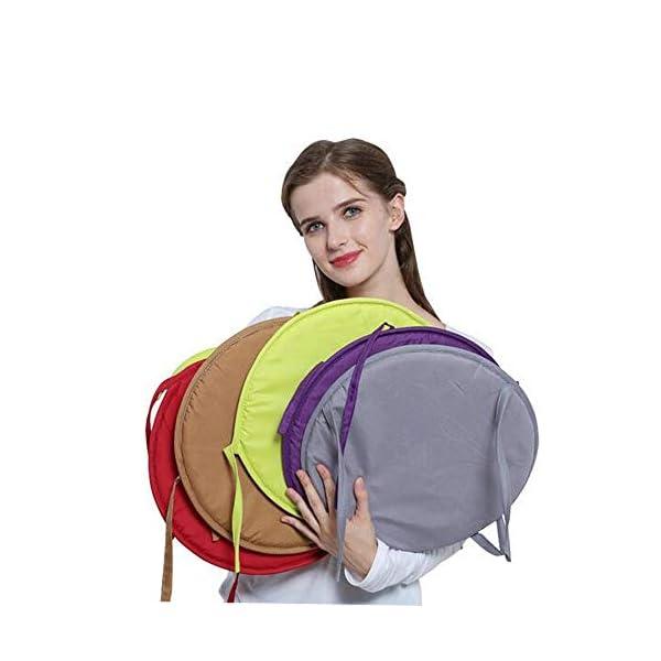AGDLLYD Cuscino Sedia 38 * 38 * 1,8cm,Cuscini da Sedia Trapuntati,Morbido Cuscino per Sedia Cuscino Sedia Cucina da… 3 spesavip
