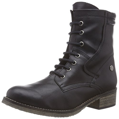 Jonny´s Vegan Keela - botas de material sintético mujer negro - negro (Negro)