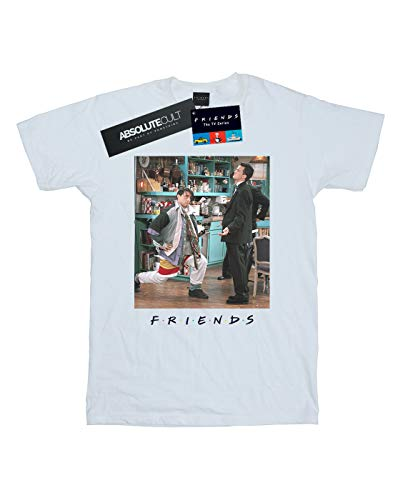 Absolute Joey Cult blanca Man Lunges Camiseta Friends gaBwqff