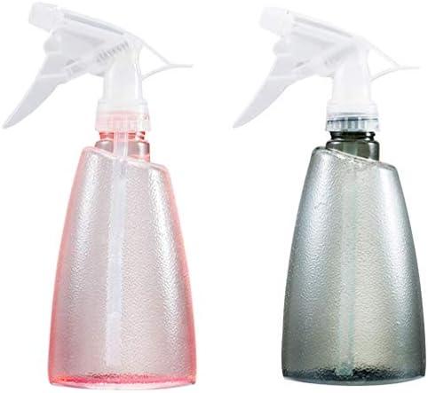 Beaupretty 2個入りスプレーボトル空の詰め替え可能なスプレーボトルプラスチックリークプルーフトリガースプレーヤーミストストリームモードで洗浄液を植えるため、500 Ml