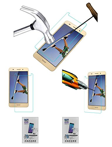 Acm Pack of 2 Tempered Glass Screenguard Compatible with Huawei Honor Holly 3 Plus Screen Guard Scratch Protector