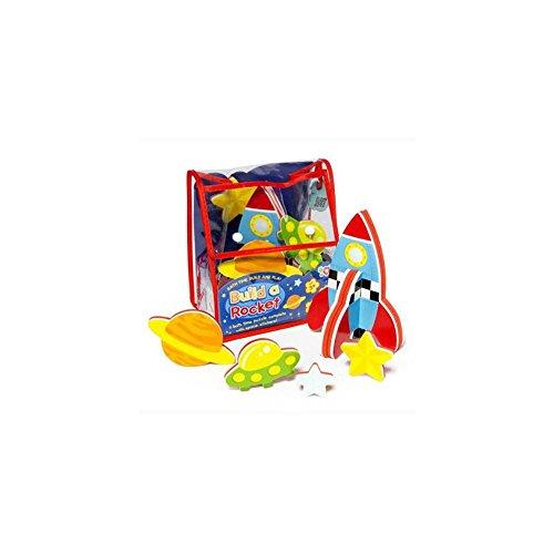 Meadow Kids Build a Rocket Bath Toy