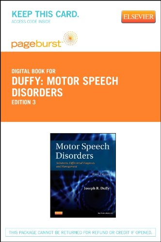 Motor Speech Disorders - Elsevier eBook on VitalSource (Retail Access Card): Substrates, Differential Diagnosis, and Management, 3e