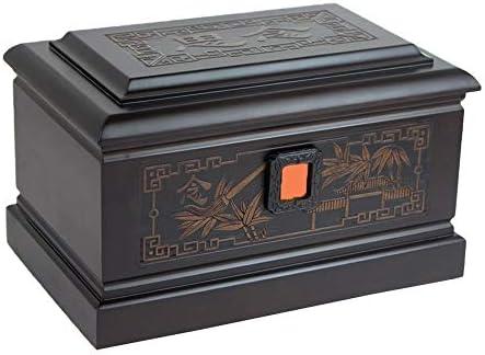 灰大人の骨壷 人間の灰大人のための壺 - 大人の火葬骨壷サイズはめあいの名残り最大360ポンド(850 Cu.In)へ BUYT