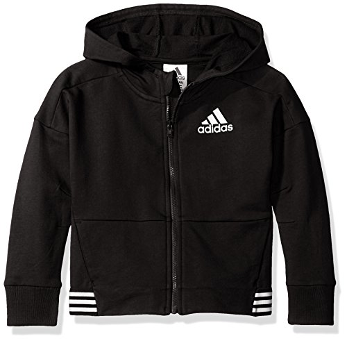 Price comparison product image Adidas Big Girls' Agility Jacket, Caviar Black, M
