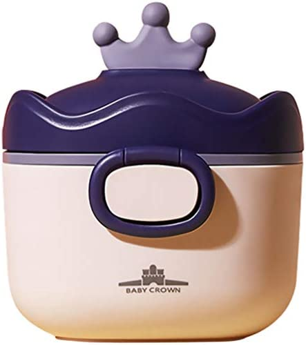 Kisangel Draagbare Baby Formule Dispenser Met Lepel Schaal Pp Plastic Melkpoeder Doos Snacks Container Voor Outdoor Activiteiten Reizen
