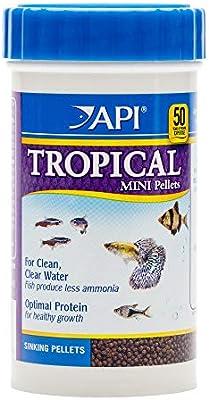 API Fish Food Pellets