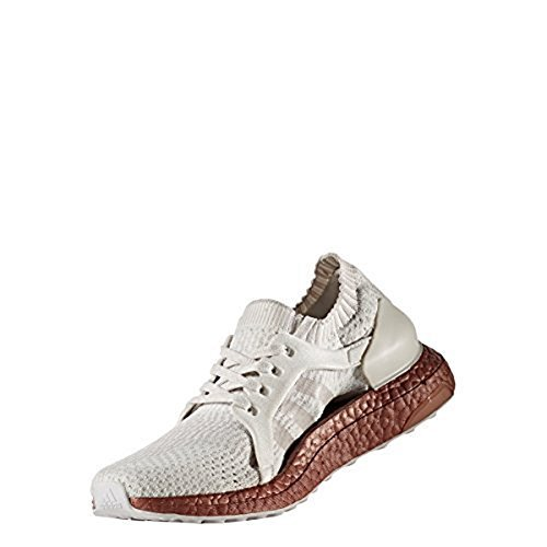 adidas Performance Women's Ultraboost X Ltd Running Shoe, Crystal White Ice Purple Tech Rust Met.S, 7.5 M US by adidas