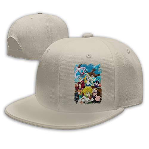 KissKid 7 Deadly Sins Unisex Relaxed Adjustable Baseball Cap Hats Natural ()