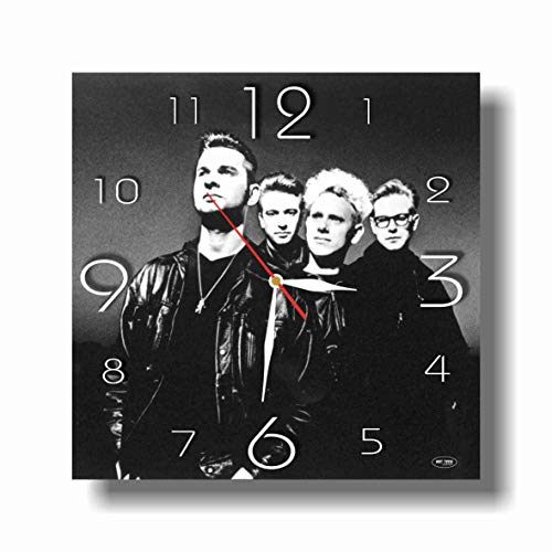 (Art time production Depeche Mode 11.8'' Handmade unique Wall Clock - Get unique décor for home or office - Best gift ideas for kids, friends, parents)