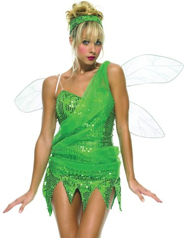 WMU 549994 Iridescent Pixie Wings with Over Shoulder (Leg Avenue Game)