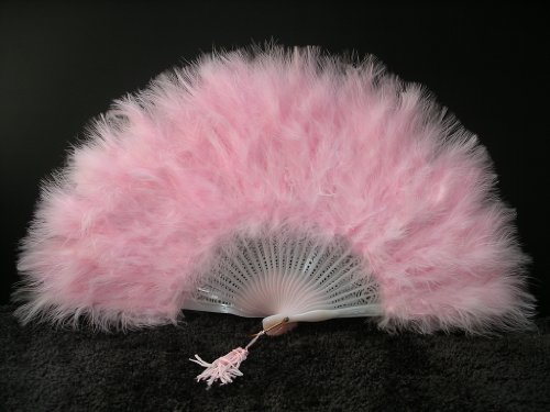 Marabou Feather Fan 12