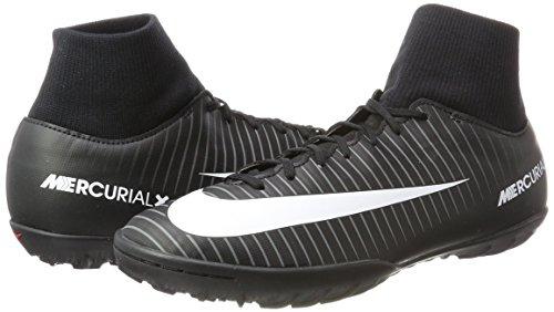 Nike Mercurialx Vittoria Vi Scarpa Da Calcio In Erba Sintetica Blackdark Grigio / Università Rosso / Bianco