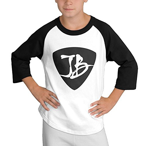 Price comparison product image MULTY9 JB Logo Child Youth 3/4 Sleeve T Shirts Medium