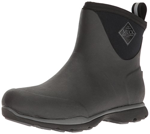 Muck Boot Arctic Excursion Waterproof Insulated Ankle Rubber Boot Black M13 US
