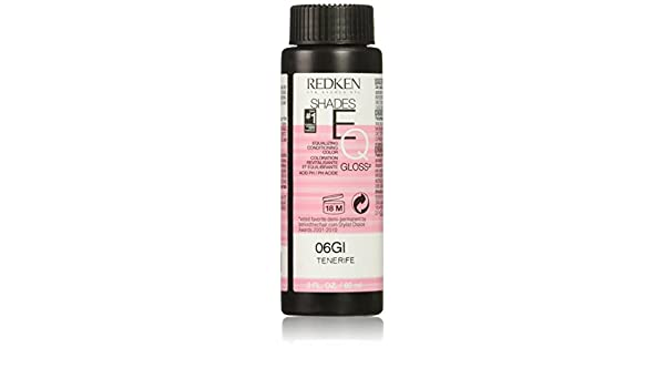 Redken Shades Eq - Cuidado capilar, color 06GI color gloss, 1 x 60 ml: Amazon.es: Belleza