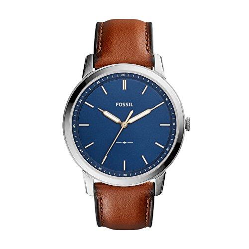 Fossil Men's the Minimalist Stainless Steel Slim Casual Quartz Watch
