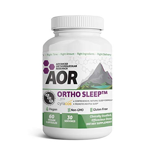 Advanced Orthomolecular Research - ORTHO SLEEP, 60 Count