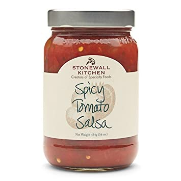 Stonewall Kitchen Gluten-free Spicy Tomato Salsa, 16 Ounces