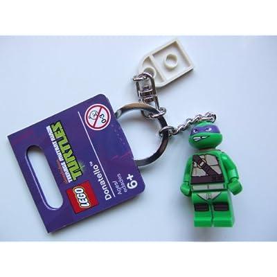 Lego Teenage Mutant Ninja Turtles Donatello Keychain: Toys & Games