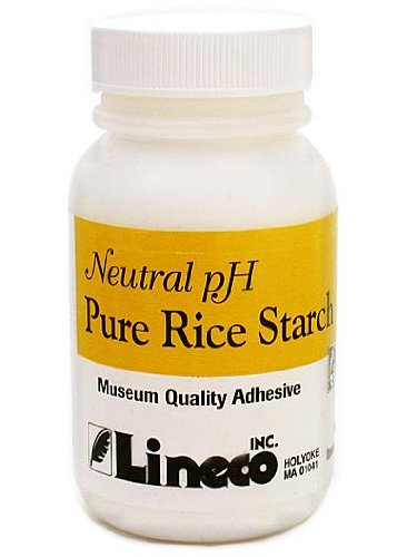 Lineco Pure Rice Starch Adhesive 2 oz. bottle - Nori Paste