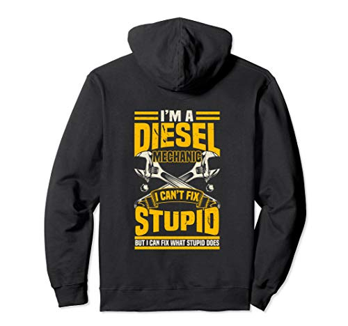 Mens Trucker Diesel Mechanic I Can