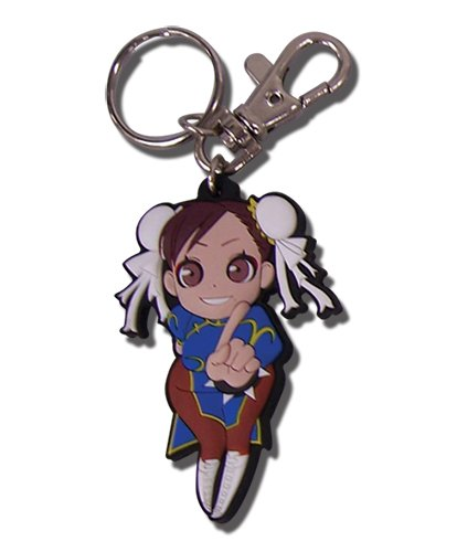 Great Eastern Entertainment Street Fighter - Iv Chun - Li PVC Keychain (Chun Li Anime)