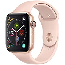 AppleWatch Series4 (GPS, 44mm) - Gold Aluminium Case with Pink Sand Sport Band