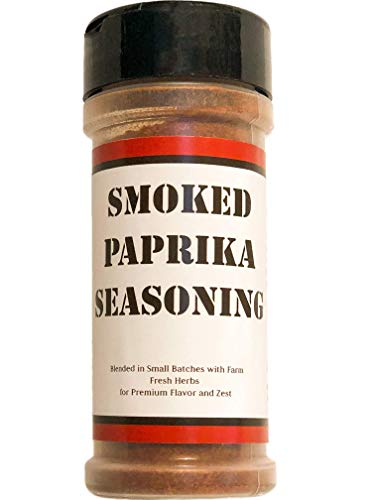 Premium Smoked Paprika Seasoning - Crafted in Small Batches with Farm Fresh Herbs for Premium Flavor and Zest by June Moon Spice Company