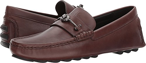 urnlock Driver Leather Mahogany Shoe ()