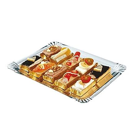 Buffet Platters Catering 5x Negro Grande Bandejas Y Claro Tapas Bandejas De Sandwich