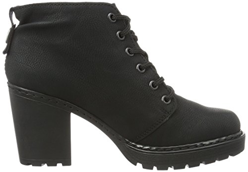 Rieker M7023, Botines para Mujer Negro (schwarz / 00)