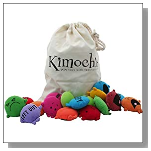 Kimochis 2086-MIXEDBAG Bag of Feelings Toy, Multicolor (Pack of 33)