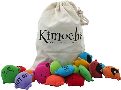 Kimochis 2086-MIXEDBAG Bag of Feelings Toy, Multicolor (Pack...