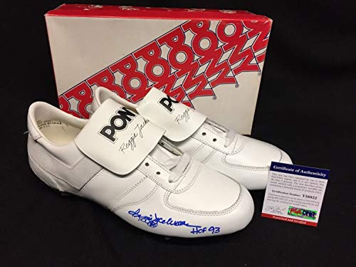 (Reggie Jackson Autographed Signed Memorabilia Reggie Jackson Model Pony Baseball Cleats Hof 93 PSA/DNA)