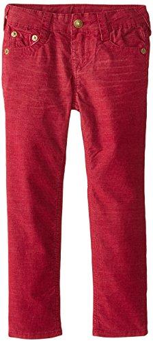 Boys Red Corduroy Pants (True Religion Boys' Geno Corduroy Pant, Mateo,)