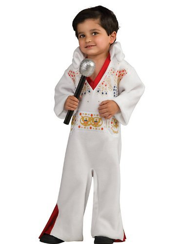 Rubie's Costume Elvis Presley Toddler White Jumpsuit -