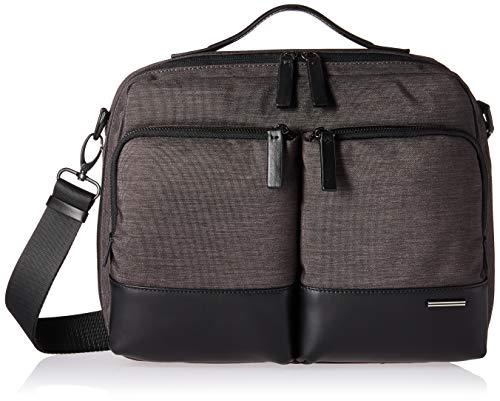 Zero Halliburton Lightweight Business-Shoulder Bag Laptop Messenger, Black, One Size ()